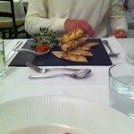 Exemple de plat au restaurant de l'hôtel