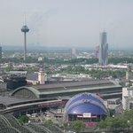 Vista da Hauptbahnhof (Estação Central) e