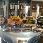 Drinks available on draught including a little something from Adnams, Mean time, Small batch bre