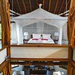 Sky Villa bed