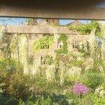 Gravetye Manor from the gardens