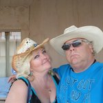 a great time, at stampede rv park!!!! THANKS SUE!!!