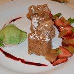 5.Gang: Dessert Rhabarber