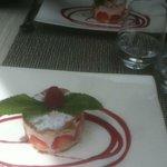 Dessert fraisier menu 22€