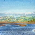view from terrace Afon Dwyryd