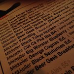Mikkeller 42 tap takeover - ridiculous!