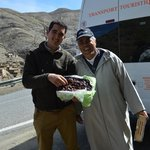 Said and Mbarek. We bought the best dates I have ever tasted!