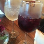 white & red Sangria