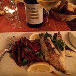 John Dory filet and white wine.   Spectacular!