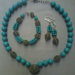 Handmade beaded jewelry - (redesign) inspired by traditional necklace from Mljet island - Mljets