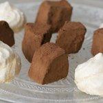 Trufas de chocolate. Cocina Tradicional Alicante.