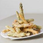 Verdurita en tempura. Cocina tradicional Alicante.