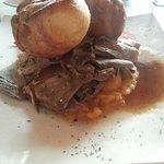 Roast beef Sunday lunch.