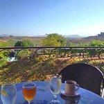 View at Breakfast at Inn at Churon Winery