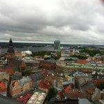 Utsikt ut over Riga