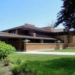 The Martin House by Frank Lloyd Wright