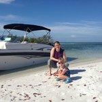 Seashell Tours on Beach