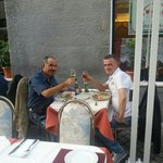 Col mio amico Michael