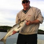 Striped Bass on the fly!