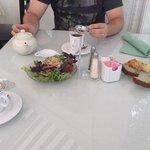 tea lunch - tea, salad, & scones/breads