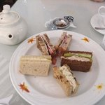 tea lunch - finger sandwiches