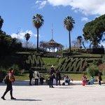 beautiful park near hotel