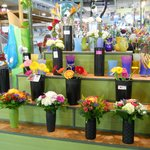 Fresh flowers for sale at entracne