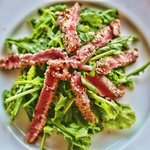Scallywags Organic Restaurant - Gili Air - Lombok - Indonesia - Wandervibes - tuna tartare