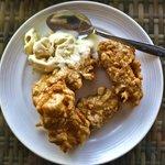 Scallywags Organic Restaurant - Gili Air - Lombok - Indonesia - Wandervibes - fried banana ice c