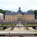 château de Vaux-le-Vicomte pris du fond du parc