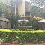 Courtyard where we ate breakfast