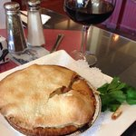 Thursday special: chicken pot pie