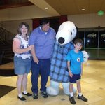 In The Lobby With Snoopy