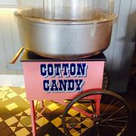 Our candy floss machine!