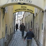 Bratislava Cobblestone Street
