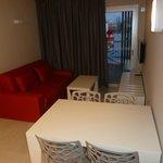 Living Room onto Balcony