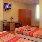 Chambre 9 famille à 2 grands lits (45€90 à 65€90)
