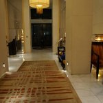 Lobby when you enter the hotel