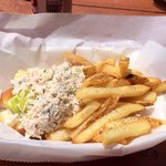Crab Roll Special with Fries! FRESH!