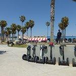 """SEGWAY """"break"""" at Venice Beach"""