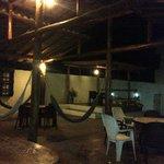 Las hamacas por la noche
