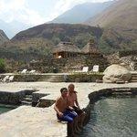 サンタテレサで有名な温泉