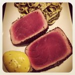 magic seared tuna
