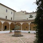 Lovely cloister courtyard