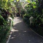 The entrance to Rumah Desa