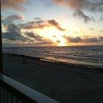 Sunrise on Padre Island, Corpus Christi, TX