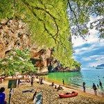 Railay Beach - Krabi - Thailand - Wandervibes - ocean