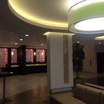 Beautiful contemporary lobby.
