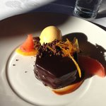 The delectable Callebaut Chocolate Dish