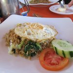 Indonesian breakfast for $3.60